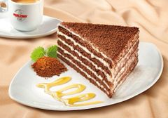 Marlenka with cocoa 800g 蜜莲卡巧克力蜂蜜千层蛋糕800克盒