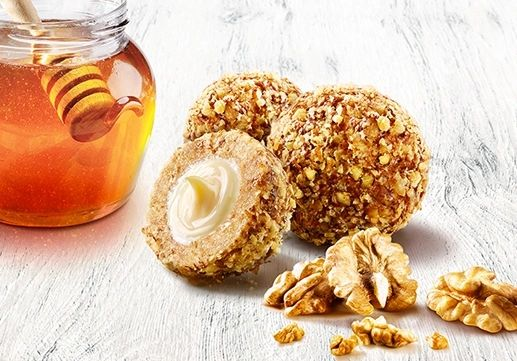Marlenka Honey Nugget with Walnuts 235g 蜜莲卡流心冰淇淋蜂蜜球形蛋糕核桃味235克