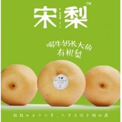 Organic Song Pear 新鲜【有机】宋梨3大颗