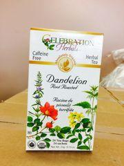 Tea_Dandelion Root Roasted Tea 24 bags 加拿大有机蒲公英根茶24袋盒