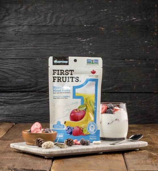 Freeze Dried Mixed Fruits Mixed Fruit 15g /加拿大冻干水果 100%纯水果 混合装