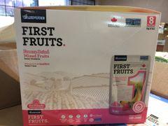 Freeze Dried Mixed Fruits Strawberry&Bananas Box /加拿大冻干水果 100%纯水果 草莓&香蕉/箱8包