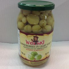 POL_Wolski Gooseberry in Light Syrup