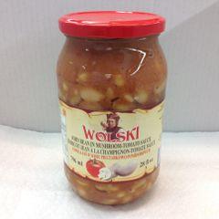 POL_Wolski John Bean in Mushroom-Tomato sauce 796ml