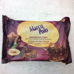 POL_Marco Polo Gingerbread Stars Plum 200g