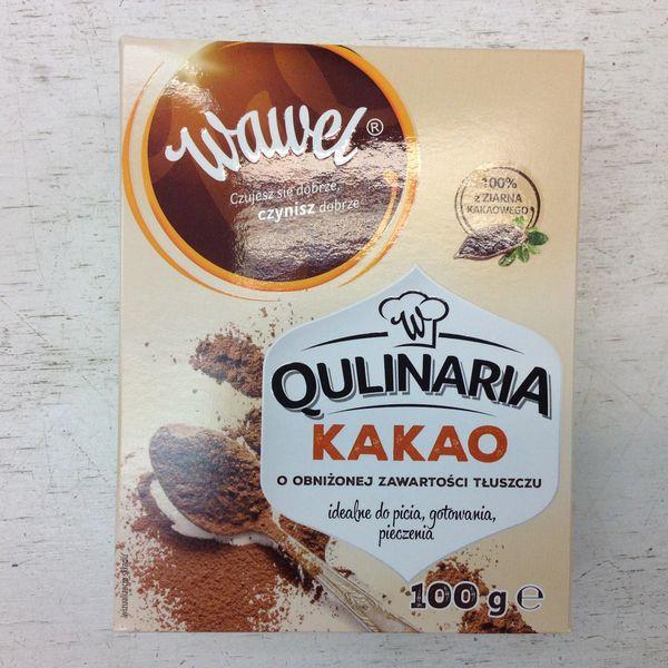 POL_Wawel Natural Cocoa 100g