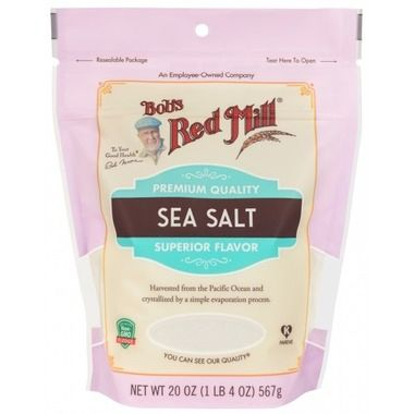 Salt_Bob's sea salt 567g/bag 加拿大海盐567克袋