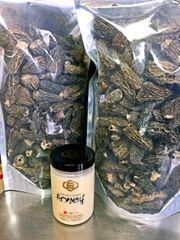 Veg_No.1 jumbo Morchella vulgaris 1 lb/bag 一级特大号干羊肚菌1磅袋【回国必买清单】