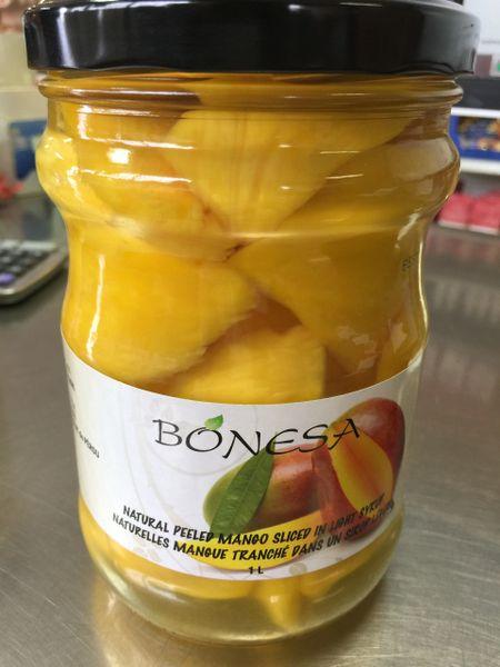Pro_Peeled Peru Mango 秘鲁芒切片罐头1升装【甜品店适用】