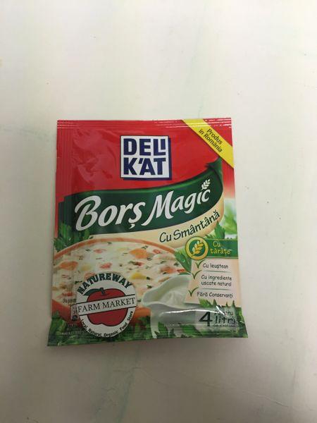 RO_Deli K'at Bors Magic cu Smantana 70g