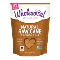 Wholesome natural Raw Cane Sugar 680g 有机原蔗糖680克袋