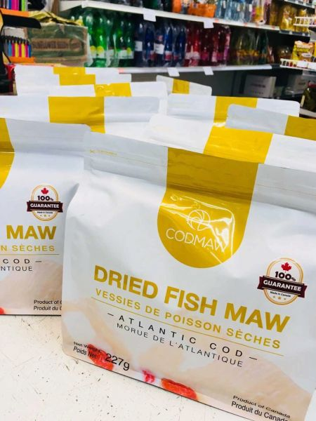 certified Wild dried fish maw【中国送货到家】加拿大100%认证纯天然野生鱼胶