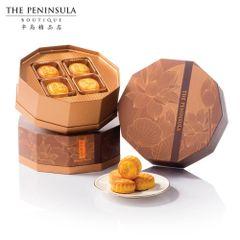 The Peninsula moon cake 【最新日期】香港半岛奶黄月饼8个盒