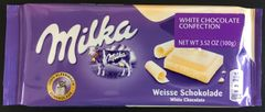 GER_Milka White Chocolate 100g 德国Milka白巧克力100克