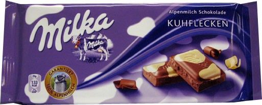 GER_Milka Happy Cow Chocolate 100g 德国Milka快乐奶牛黑白巧克力100克