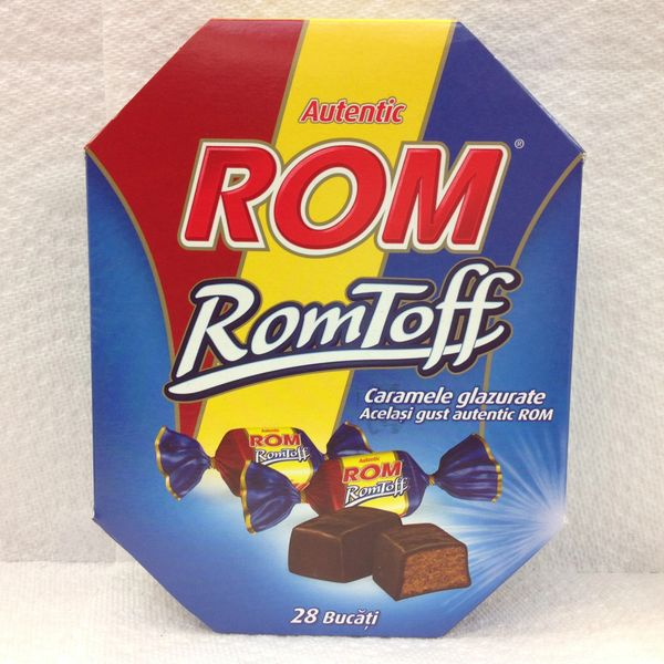 RO_RomToff Caramele glazurare 28 bucati