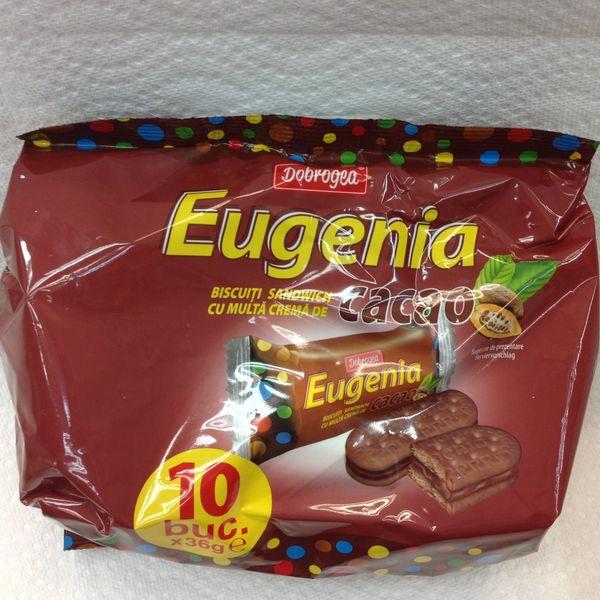 RO_Eugenia Cacao Biscuiti 360g(10x36g)