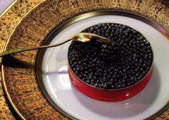 Sturgeon Caviar 50g 顶级黑金鱼子酱一罐50克