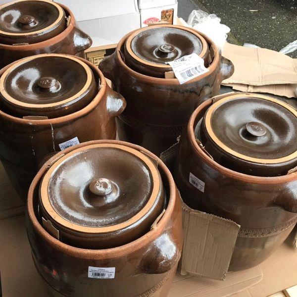 【Made in Slovakia】Pickling Barrel【欧洲名窑打造】泡菜坛/腌蛋坛/米酒缸