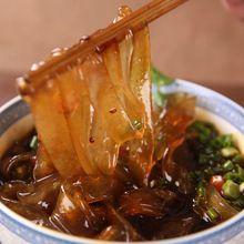 Sweet potato noodles 韩国红薯粉(宽)500克袋