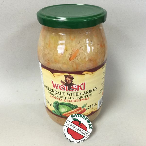 POL_Wolski Sauerkraut with Carrots 796ml (No Shipping, Pick-Up Only)