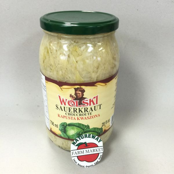 POL_Wolski Sauerkraut 796 ml (No Shipping, Pick-Up Only)