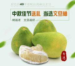 Premium Taiwan Heirloom Pomelo 正宗台湾老树文旦柚2颗