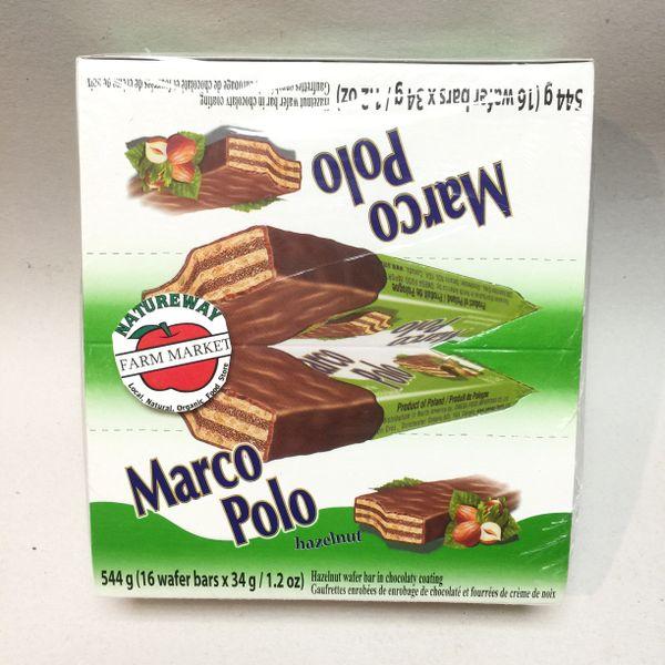 POL_Marco Polo Wafer Bars Hazelnut 544 g