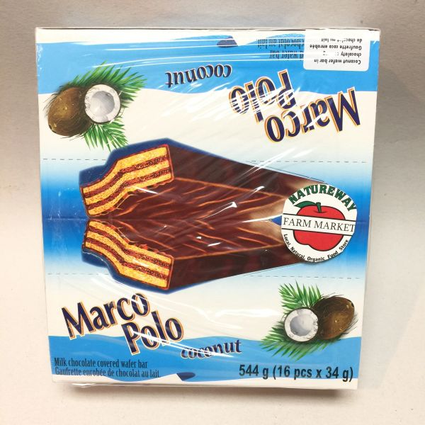POL_Marco Polo Wafer Bars Coconut 544g