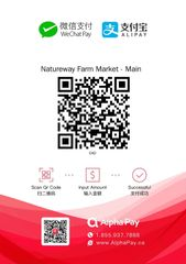 Wechat and Ali payment (微信、支付宝)—请下载图片后扫码付款!付完后请截屏连订单号一起发到: order@natureway.ca