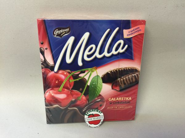 POL_Mella Jelly in Chocolate Cherry 190g