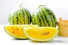 Taiwan Hualian yellow watermelon 台湾花莲黄肉西瓜(约8磅)