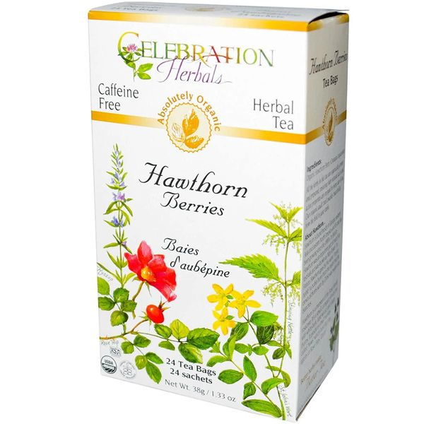 Tea_Organic Hawthorn Berries Tea 24 bags 加拿大有机山楂茶24袋盒