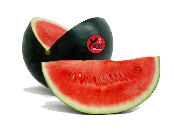 Yumi organic black watermelon 裕美有机黑皮无籽西瓜(超甜)