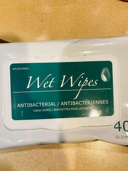 75% alcohols Wet Wipes 【加拿大卫生部认证】75%酒精消毒湿巾