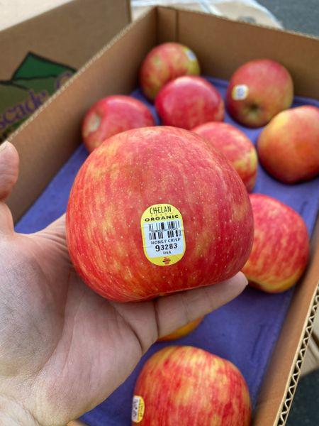 Organic honey crisp apples 【认证有机/特别推荐】特级蜜糖脆苹果
