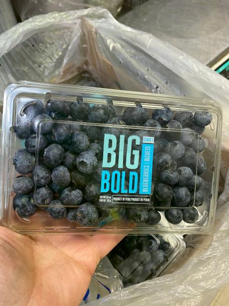 Jumbo Peru Blueberry 秘鲁超大蓝莓 312克盒