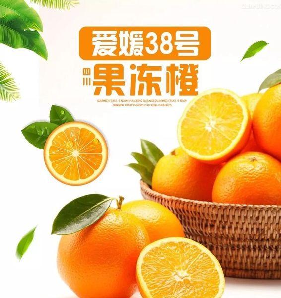 Aiyuan 38 Oranges 【香甜细腻/嫩若果冻/汁如涌泉】四川眉山爱媛38果冻橙