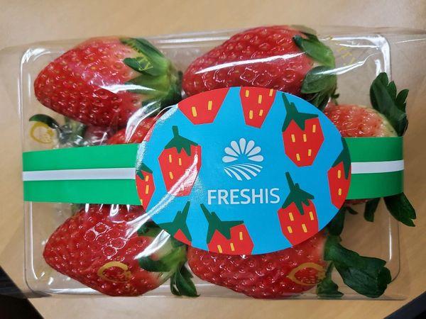 Korea strawberry 空运韩国香雪草莓