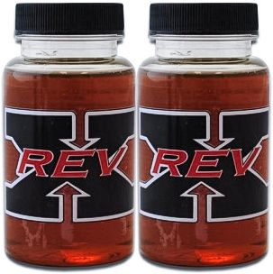 2-Pack of REV-X High Performance Oil Additive 4 oz. Bottles