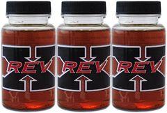 3-Pack of REV-X High Performance Oil Additive 4 oz. Bottle