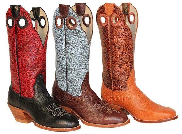 Hondo Women's Western Boot Blue Amazon