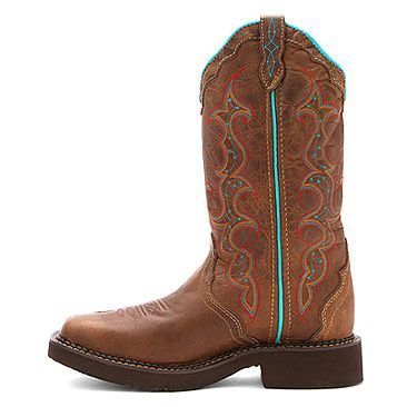 Justin Women's Gypsy Collection Tan Jaguar Western Boots