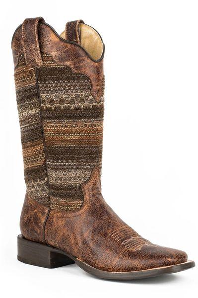 Roper Ladies Fabric Fashion Boot