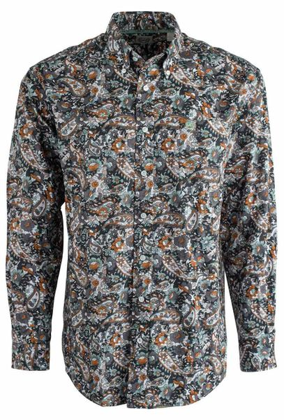 Cinch Shirt Multi Color Pattern Shirt