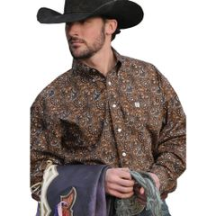 Cinch Brown Paisley