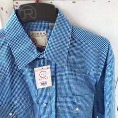 Roper Amarillo Crystal Blue Shirt