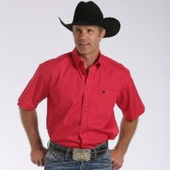 Cinch Solid Red Western Shirt
