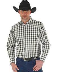 Wrangler Western Yoke Snap Up