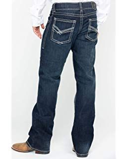 Rock 47 by Wrangler Men's Dark Wash Relaxed Fit